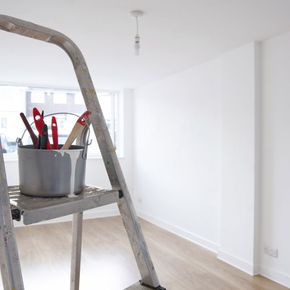 painter and decorators ladder and equipment